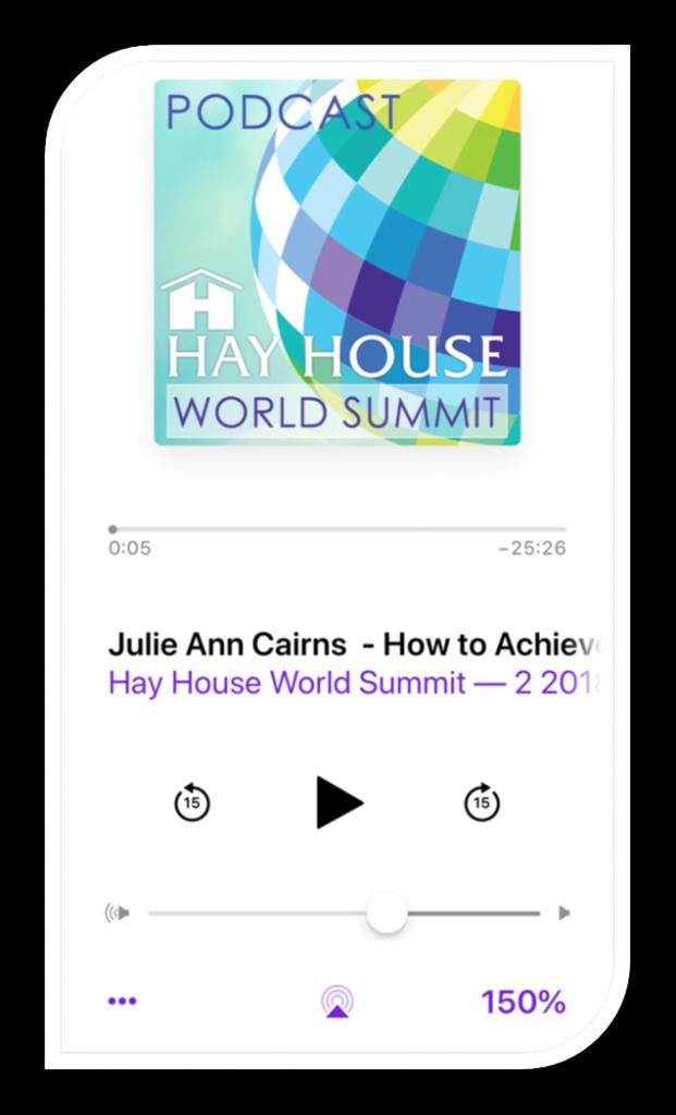 צילום של דף הפודקאסט של hay house summit של הפודקאסט Julie Ann Cairns - How to Achieve Success by Changing Your BeliefJulie Ann Cairns - How to Achieve Success by Changing Your Belief
