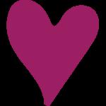 לב סגול
