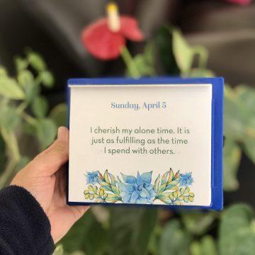 שלווה בתוך הכאוס – פרק 2 – רגע לעצמי